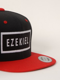 EZEKIEL kšiltovka REPUBLIC BLK/RED