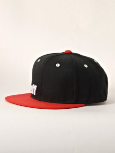 NEFF kšiltovka DAILY CAP BLACK/RED/WHITE