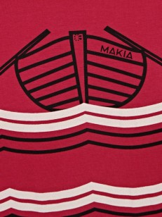 MAKIA triko ROWING T-SHIRT GRANITA