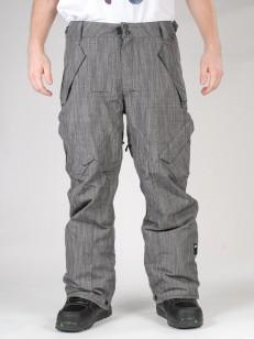 RIDE kalhoty PHINNEY INS. BLACK SLUB