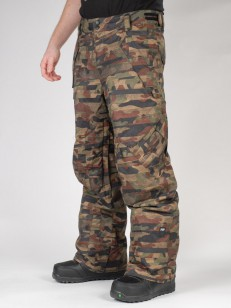 RIDE kalhoty PHINNEY SHEL DISTORTED CAMO