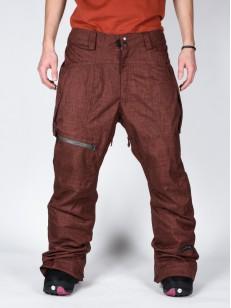 CAPPEL kalhoty CALLING MAHOGANY/CHAMBR
