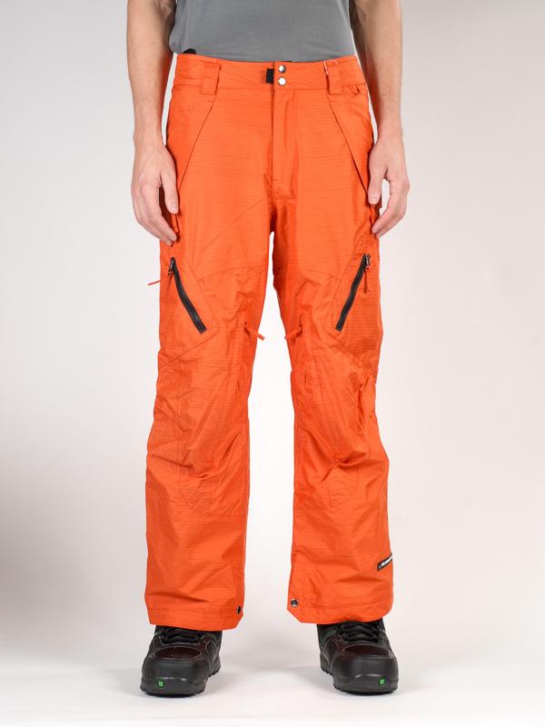 Ride Kalhoty Alki Shell Dark/orange - S oranžová