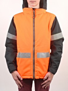 686 bunda DICKIES RESCUE safety orange clrblk