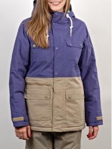 NITRO bunda CYPRESS purple/khaki
