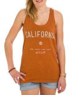 ELEMENT tílko CALIFORNIA BROWN