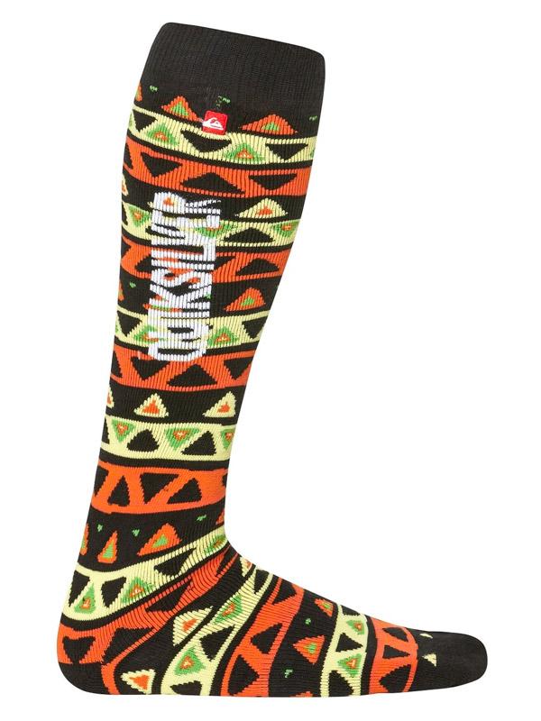 Quiksilver Ponožky Steady Socks Nlh1 - S/m černá