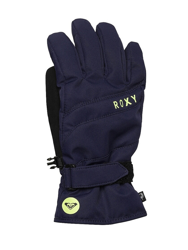 Roxy Rukavice Mouna Solid Byk0 - S modrá