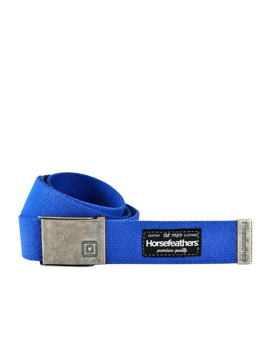 Horsefeathers Pásek Sid Blue modrá