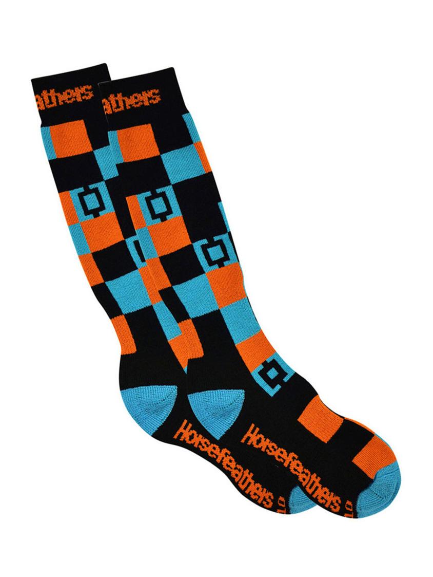 Horsefeathers Ponožky Dublin Black - 11-13 černá