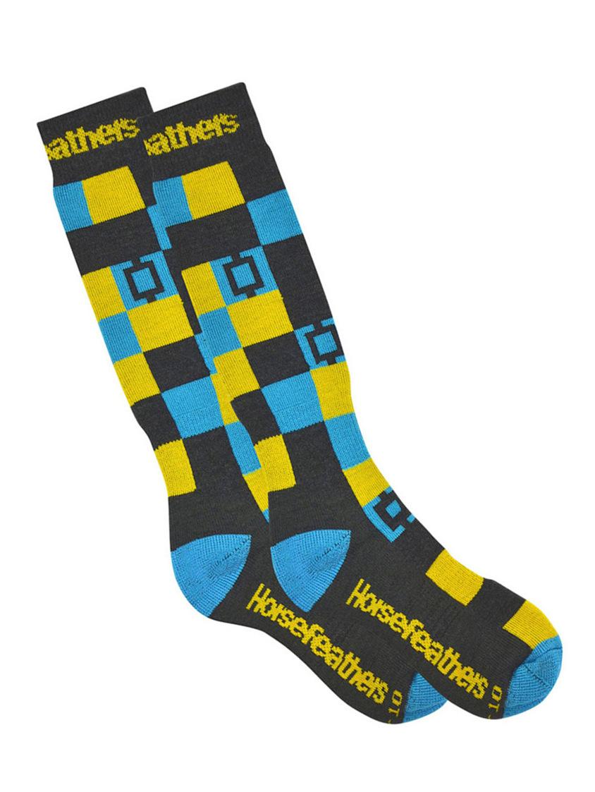 Horsefeathers Ponožky Dublin Gray Melange - 11-13 šedá