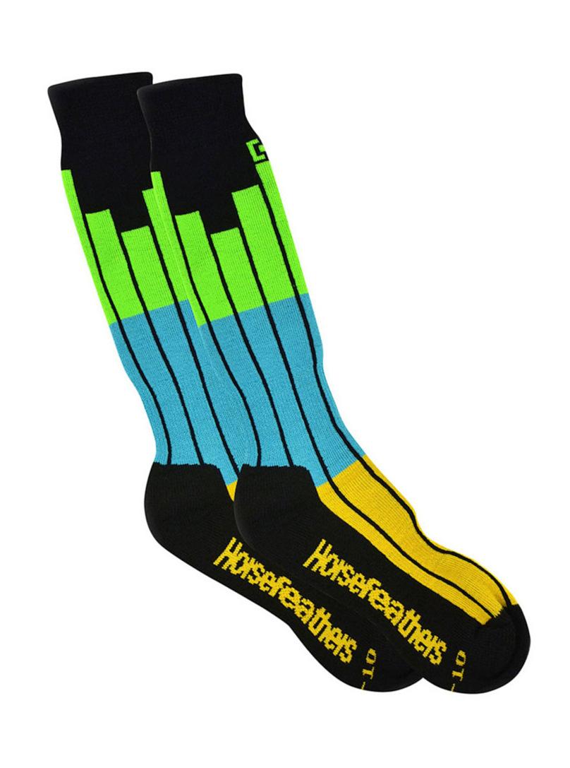 Horsefeathers Ponožky On Air Black - 11-13 černá