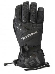 HORSEFEATHERS rukavice SOLO black