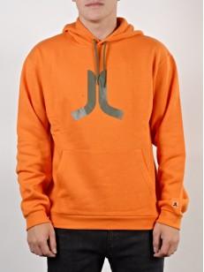 WESC mikina ICON russet orange