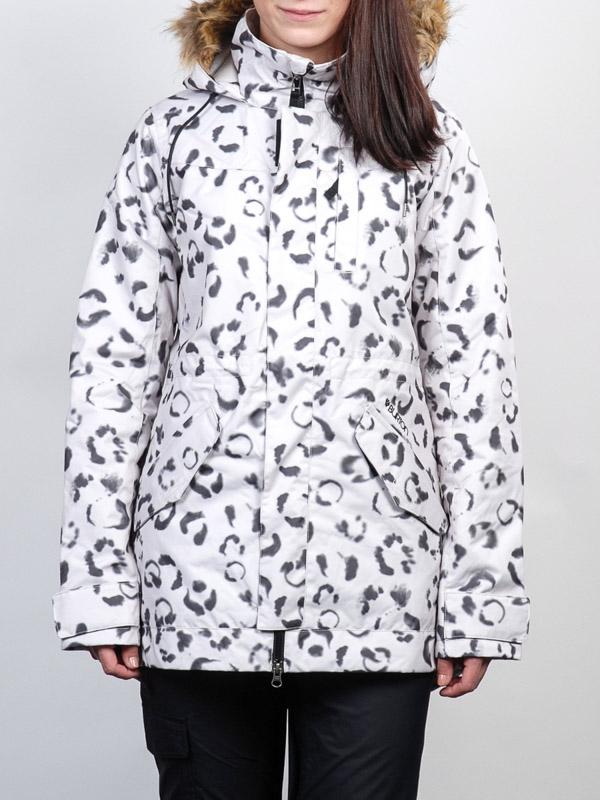 Burton Bunda Wanderlust Snow Leopard - M bílá