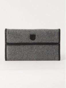 BURTON peněženka TRI FOLD GREY WOOL
