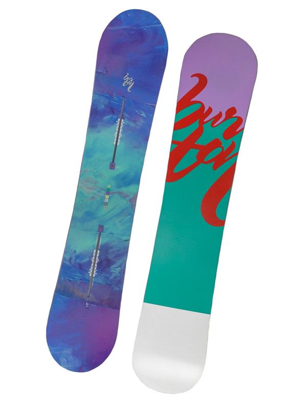 Burton Snowboard Feather Blu/vio 140