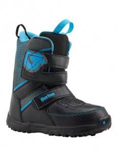 BURTON boty GROM BLACK/GRAY/BLUE