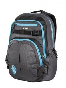 NITRO batoh CHASE blur - blue trims