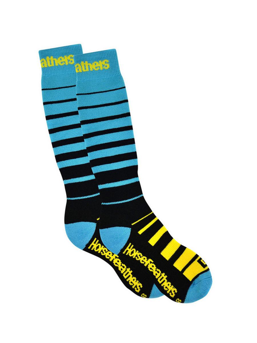 Horsefeathers Ponožky Rio Blue - 5-7 modrá