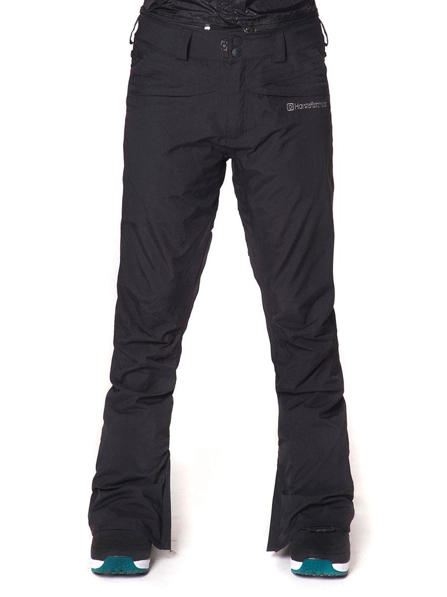 Horsefeathers Kalhoty Ivy 10 Black - L černá