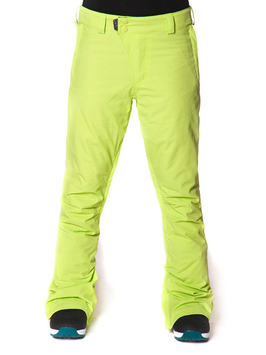 Horsefeathers Kalhoty Serena Sunny Lime - L žlutá