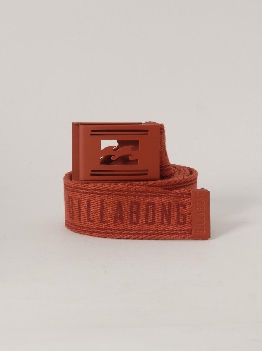Billabong Pásek Logistic Blood červená