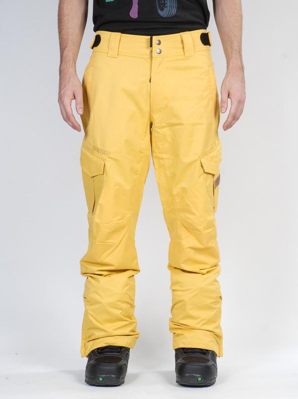 Funstorm Kalhoty Navigator 22 Yellow - L žlutá
