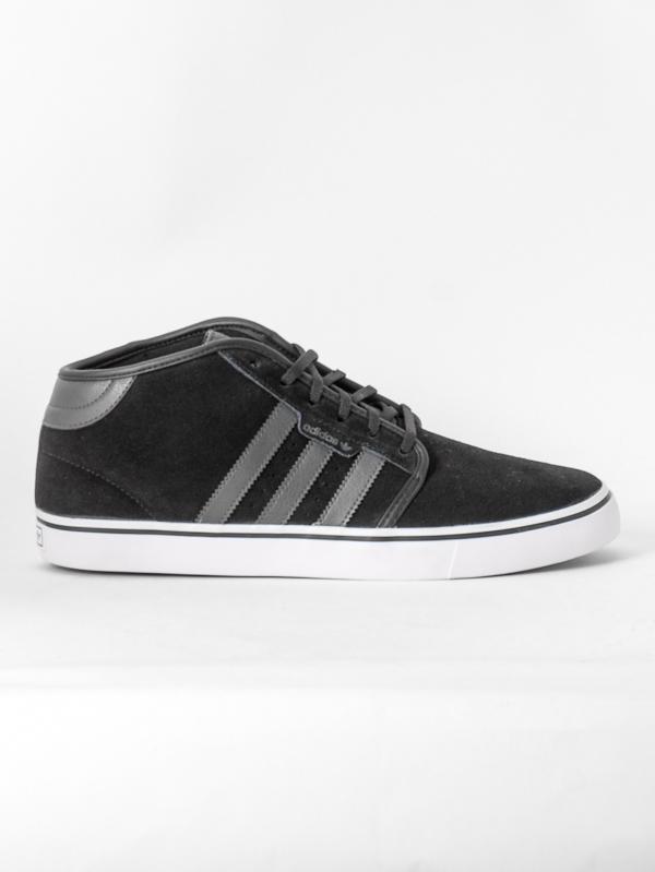 Adidas Boty Seeley Mid Blk/gry/wht - 12us černá