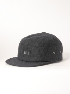 MAKIA kšiltovka WOOL 5 PANEL GREY
