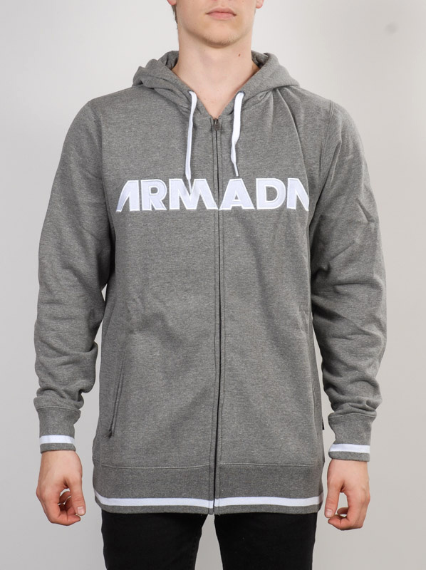 Armada Mikina Represent Heather Grey - M šedá