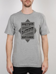 ELECTRIC triko FOREIGN HEATHER GREY