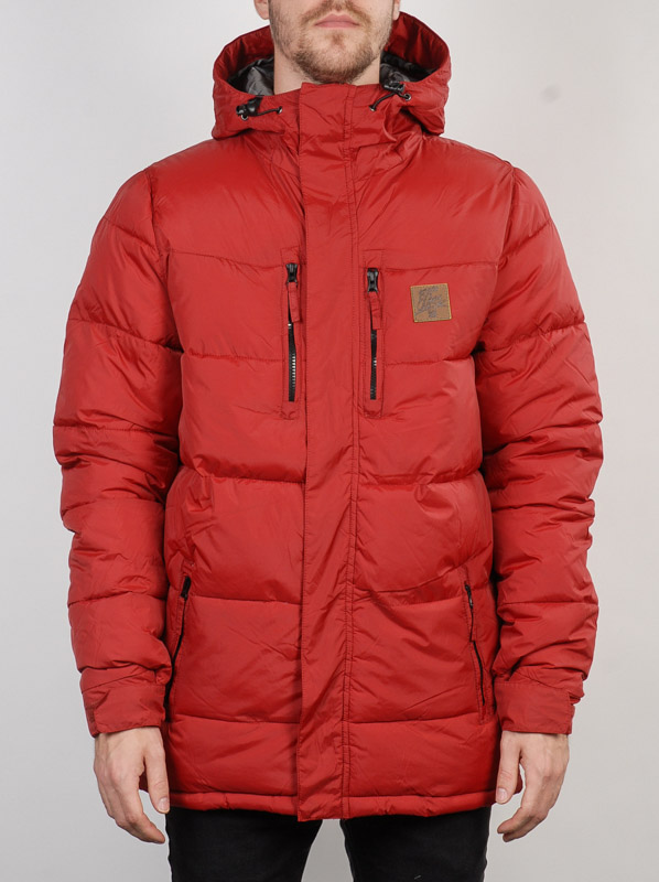 Rip Curl Bunda Ripping Puffer Red Dahlia - XL