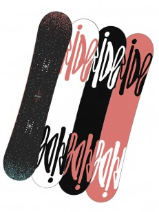 RIDE snowboard RAPTURE BLK/BLU 138