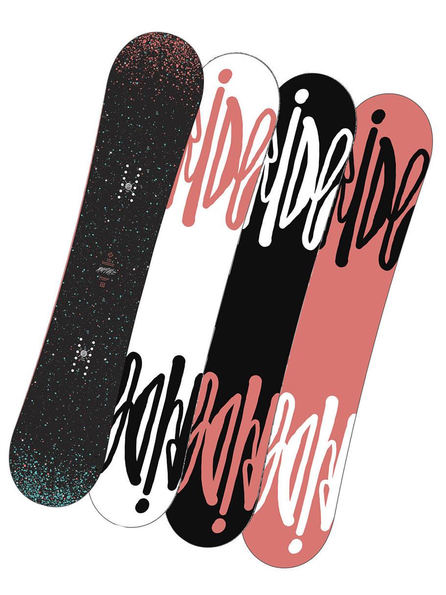 Ride Snowboard Rapture Blk/blu 143 černá