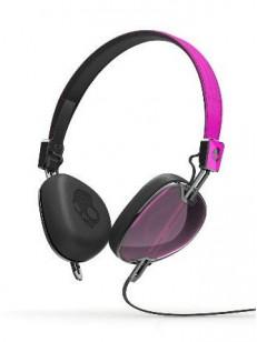 SKULLCANDY sluchátka NAVIGATOR Hot Pink/Bk w/Mic3