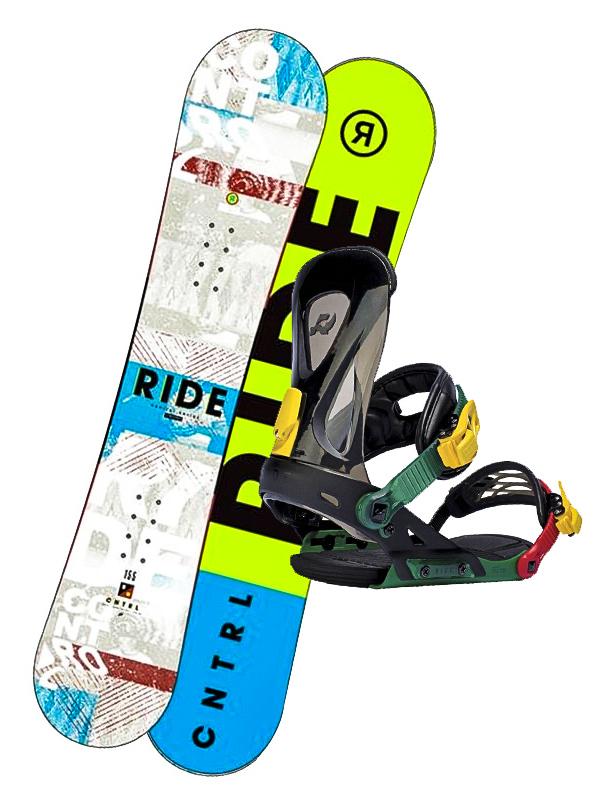Ride Komplet Control Wht/blu bílá