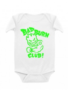 SPITFIRE body BAD BURN CLUB WHT