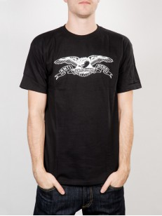 ANTIHERO triko BASIC EAGLE BLK/WHT