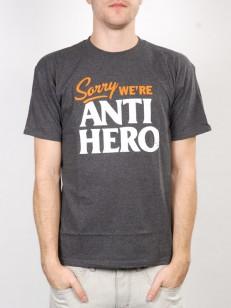 ANTIHERO triko SORRY C.HTR/WHT-ORG