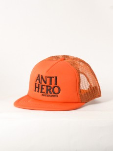 ANTIHERO kšiltovka BLACK HERO ORG