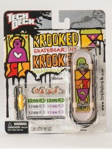TECHDECK fingerboard KROOKED 1 GRY/PIN