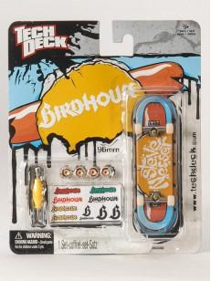 TECHDECK fingerboard BIRDHOUSE 1 BLU/ORG
