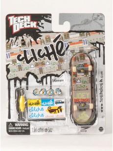 TECHDECK fingerboard CLICHÉ 2 GRY