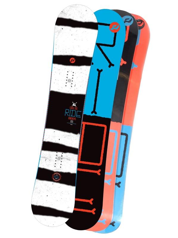 Ride Snowboard Control Blk/blu 152 černá