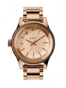 NIXON hodinky FACET ROSEGOLD