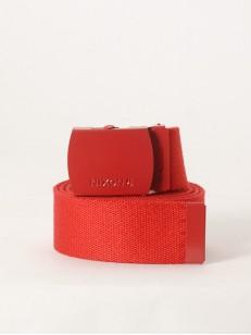 NIXON pásek BASIS RED