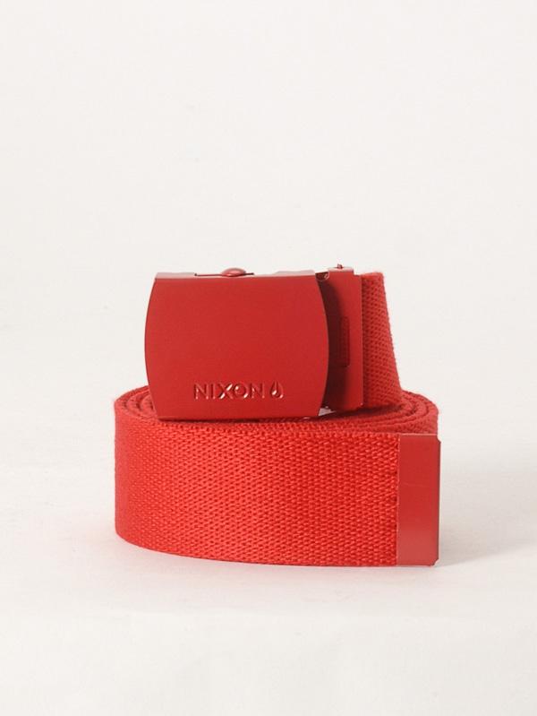 Nixon Pásek Basis Red červená
