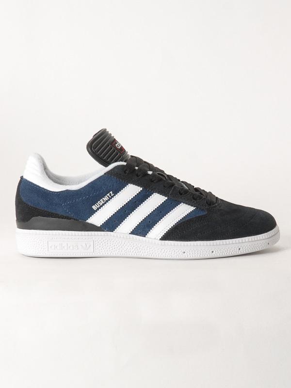 Adidas Boty Busenitz Blk/blu/wht - 11,5us modrá