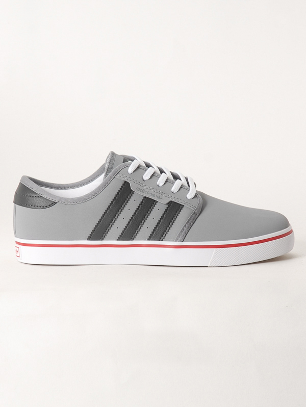 Adidas Boty Seeley Gry/carb/red - 6,5us šedá